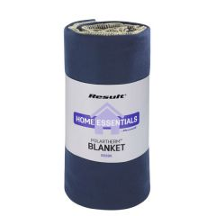Marine Navy Result Polartherm Fleece Blanket 140x175cm