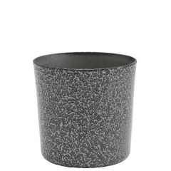 """Hammered Silver Finished Stainless Steel Serving Cup 3.3"""" / 8.5cm 14.8oz/42cl"""