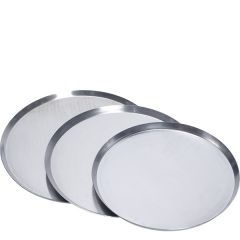 "Aluminium Thin Crust Pizza Pan 14x0.75"" / 35.5x2cm"
