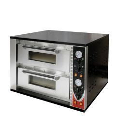 Sirman Lipari Twin Deck Pizza Oven 9kW 930x770x672mm