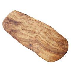 "Olive Wood Board without Handle 15.75"" / 40cm"