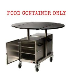 Room Service Food Container for Trolley 33x33x40cm