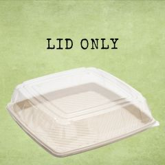 Sabert Clear PET Domed Lid to fit Square Platter Base 27x27cm