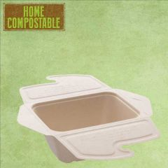 Sabert Home Compostable BePulp Takeaway Food Box 750ml 17x13x7cm