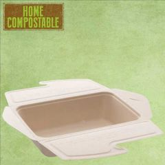 Sabert Home Compostable BePulp Takeaway Food Box 1000ml 21x15x5cm