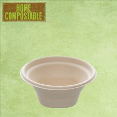 Sabert Home Compostable BePulp Hot2Go Round Bowl 13x6cm 250ml