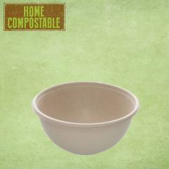Sabert Home Compostable BePulp Buddha Round Bowl 17x7cm 750ml