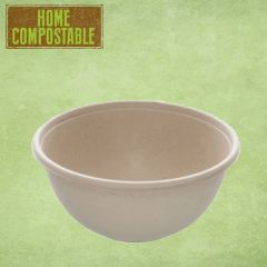 Sabert Home Compostable BePulp Buddha Round Bowl 17x8cm 1000ml