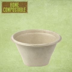 Sabert Home Compostable BePulp Hot2Go Round Bowl 13x7cm 375ml