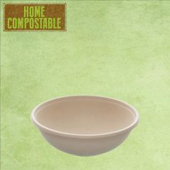 Sabert Home Compostable BePulp Buddha Round Bowl 17x5cm 600ml