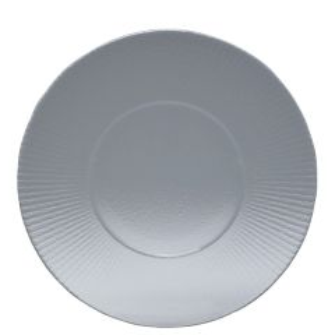 "Steelite Creations Willow Clear Gourmet Plate Medium Well 11.25"" / 28.5cm"