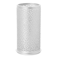 Duni Bliss Silver Metal Tealight / LED Candle Holder 14x7.5cm
