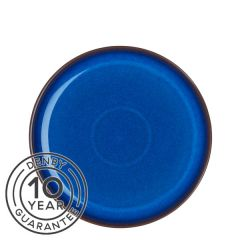 """Denby Imperial Blue Coupe Dinner Plate 10.2"""" / 26cm"""