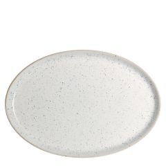"Denby Studio Blue Chalk Medium Oval Tray 10.6"" / 27cm"