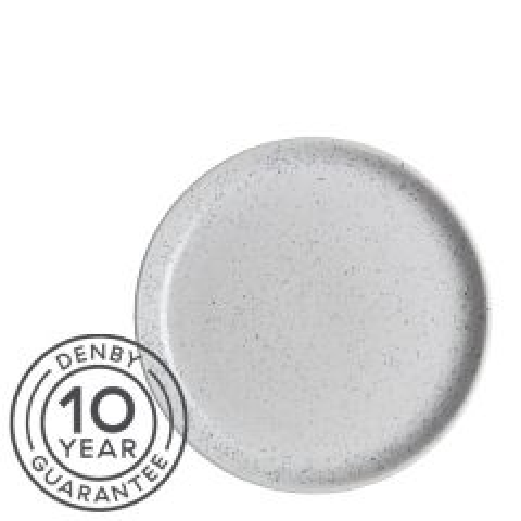 "Denby Studio Blue Chalk Small Coupe Plate 6.7"" / 17cm"