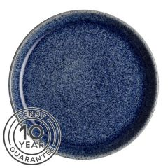 "Denby Studio Blue Cobalt Coupe Dinner Plate 10.25"" / 26cm"