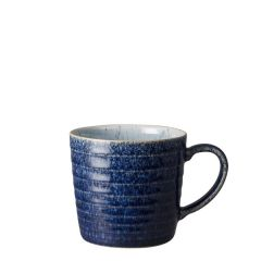 Denby Studio Blue Cobalt / Pebble Ridged Mug 14oz / 39.7cl