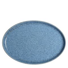 "Denby Studio Blue Flint Medium Oval Tray 10.6"" / 27cm"