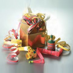 Tom Smith Gold Party Box