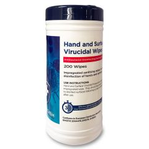 Holchem Virucidal Hand & Surface Disinfecting Wipes
