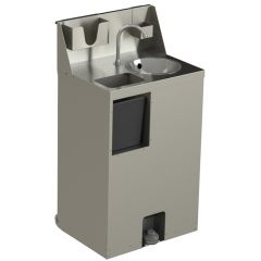 Hallco Mobile Hands Free Hand Wash Sink