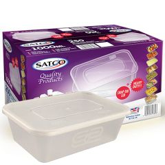 1000ml Satco Clear Takeaway Container