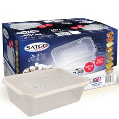 Satco Clear Takeaway Container 650ml