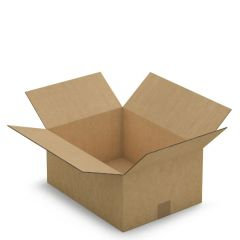 Brown Double Walled Takeaway Delivery Box 19Ltr 380x280x180mm