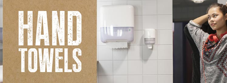 Hand Towels and Dispensers from Stephensons Catering Suppliers