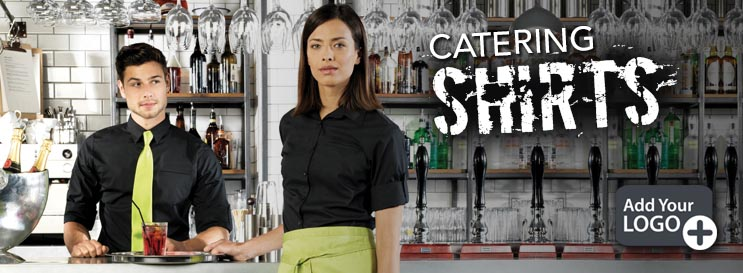 Catering Shirts for Men and Women