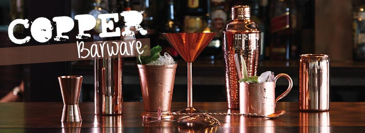 Copper Barware - copper bar equipment