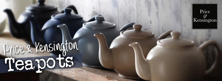 Price and Kensington Tea Pots