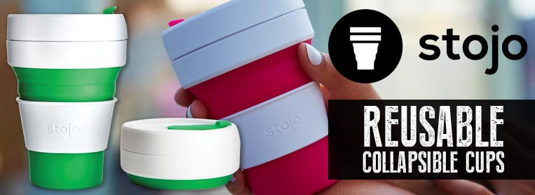 Stojo Reusable Coffee Cup