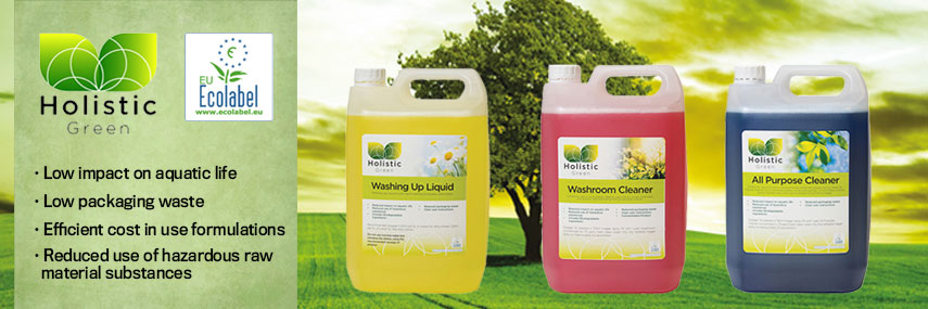 Holistic Green Eco Label Cleaning Products