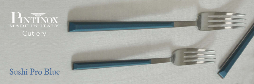Pintinox Sushi Pro Blue Cutlery 18/10