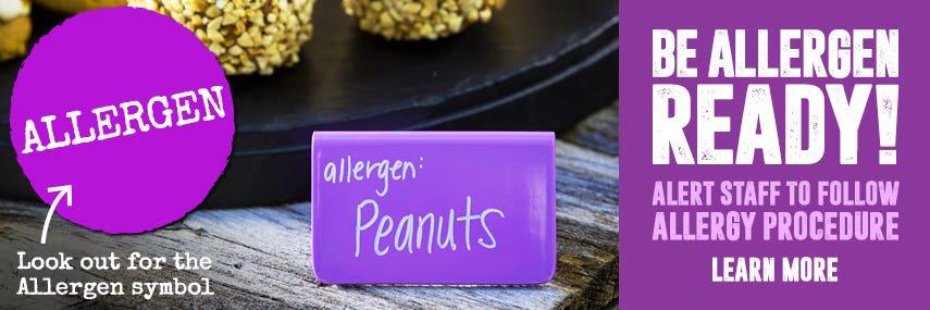 Allergen Kitchen Equipment anti-allergen allergic allergy reaction nuts wheat celeriac egg milk mustard molluscs sesame cereal