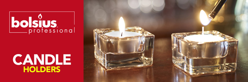 Bolsius Candle Holders from Stephensons Catering Suppliers