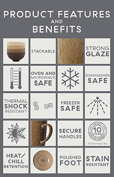 Denby Product Features and Benefits