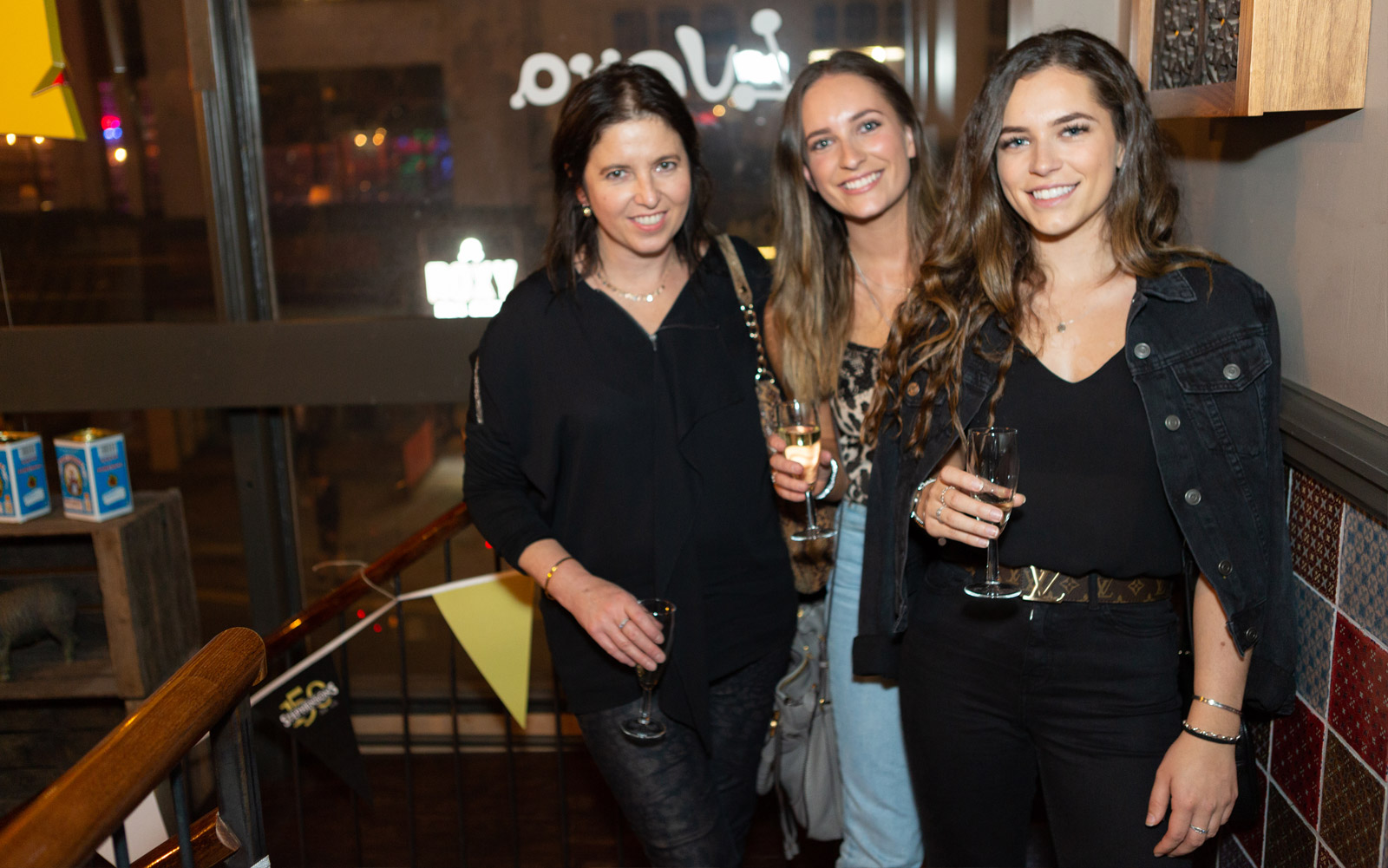 Nicolla, Georgia and Ellie Hudson