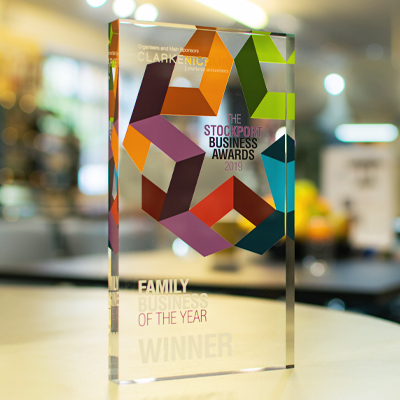 Stockport Business Awards Family Business of the Year 2019