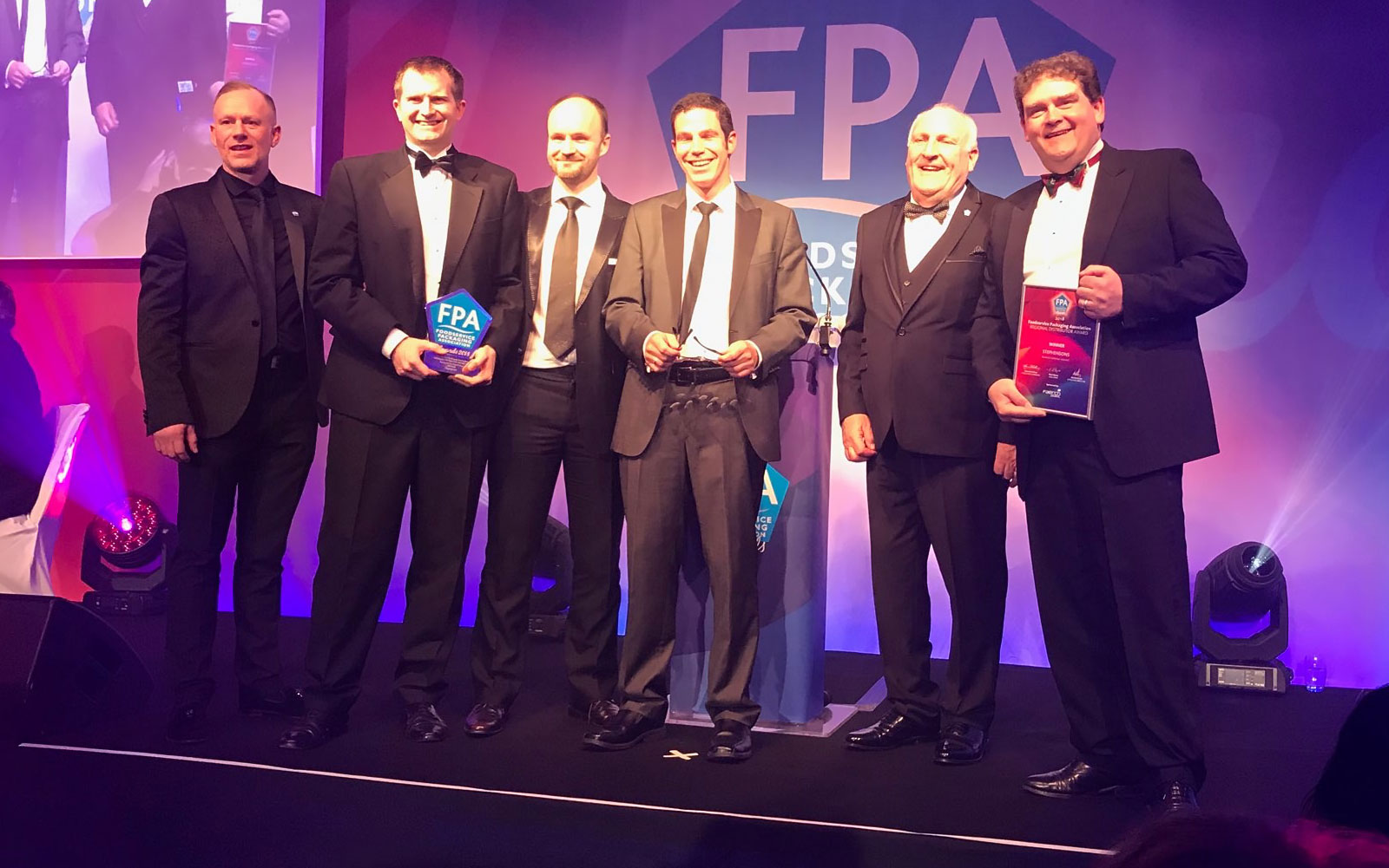 Henry and Julian were proud to accept the FPA Award for Regional Distributor of the Year 2018