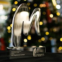 Stephensons won the MEN Business of the Year Award in the £10-25m Turnover Category