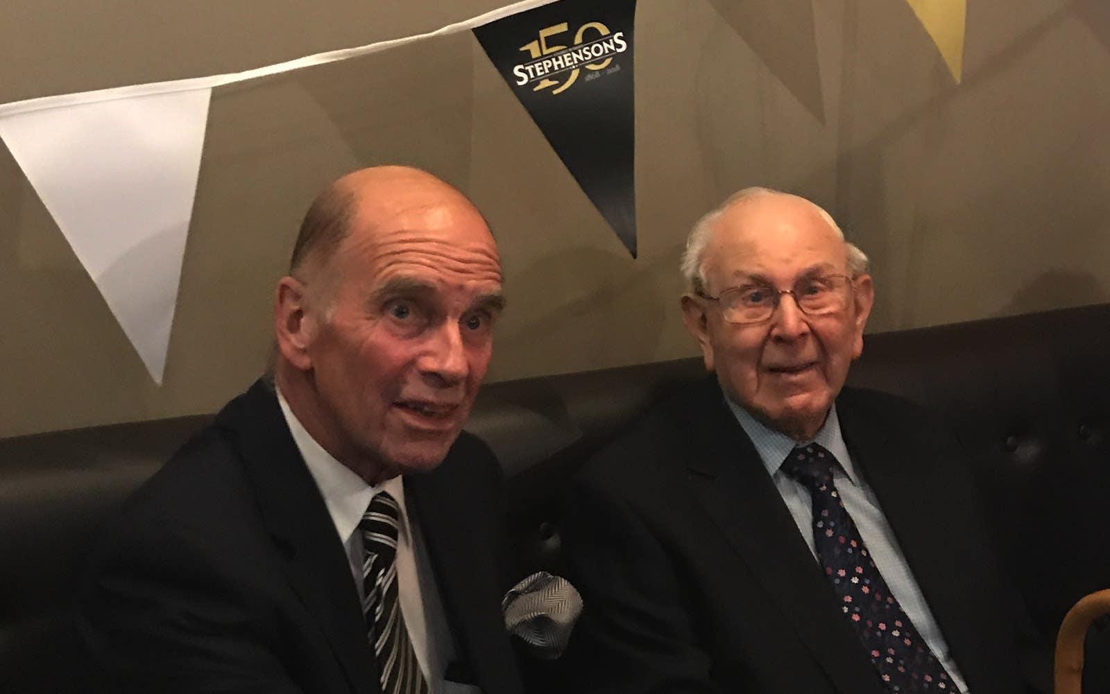 Michael Stephenson and John Milnes