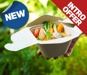 Sabert Compostable Takeaway Food Packaging from Stephensons Catering Equipment