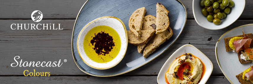 Churchill Stonecast Colours Rustic Crockery from Stephensons Catering Suppliers